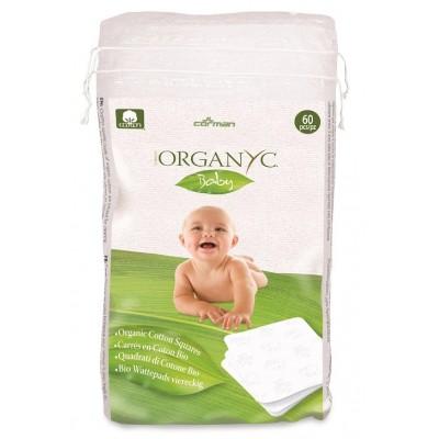 Toallas Compacta algodón para bebe 60 u