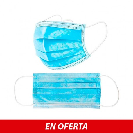 Mascarilla Protectora Desechable 3 capas
